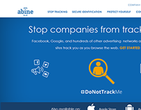 Abine Product Page Redesign