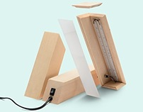 Delta Lamp, for LoSiento Studio