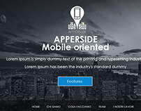 Apperside Mobile Oriented Web Redesign