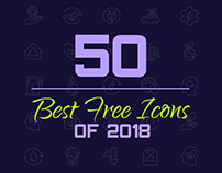 50+ Best Free Icons of 2018