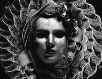 mask & skull
