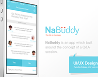 NaBuddy iOS UI/UX Design