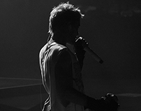 Concert/Show Photography. B/N. 30 seconds to mars