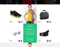 E-commerce newsletter