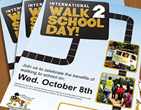 Central Florida's International Walk to School Day
