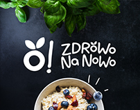 ZDROWO NA NOWO logo/ branding / packaging