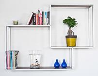 Bones Bookcase: Any Size, Any Shape