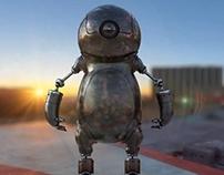 Smile Robot - Lookdev Turntable