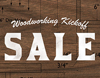 Woodworking Kickoff Sale