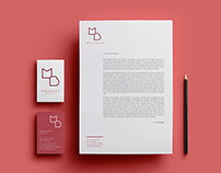 Marta Biggio Architect // Brand Identity