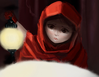 Girl & Panda