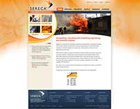 Sereca Fire Website