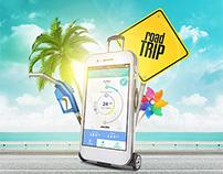 KIA Road Trip Mobile App