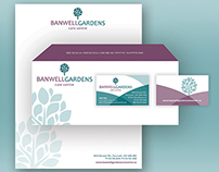 Banwell Gardens Brand Identity