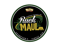 Ruck N Maul Local Beer