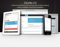 Zásielky 2.0 - website