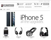 Love My Smartphone Ecommerce Website