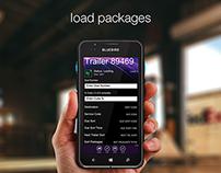 Rugged Handheld Package Loading App