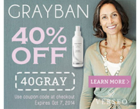 GrayBan - Verseo Web Banners and Home Page