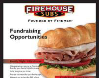 Firehouse Subs Promotional Flyer