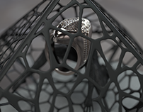 Jewelry Design: 2 Faced Ring 2013