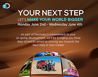Your Next Steps posters