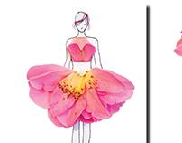 Photography: Flower Dress Design