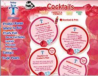 IceT Fruity Fun website design
