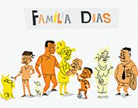 Família Dias - Projeto Tempo na Vida