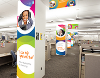 AT&T Call Center Signage