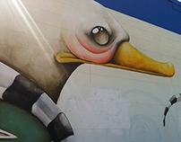 Mural at West Alabama
