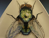 Triangle Fly Plate