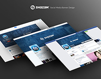 Shazam Social Media Assets