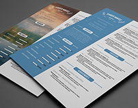 Clean Resume - Photoshop PSD Template
