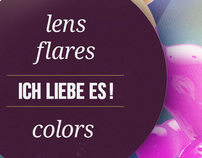 LENSFLARES & COLORS | Poster