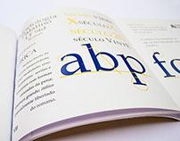 Livro Tipográfico (typographic book) - Palatino
