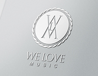 WE LOVE MUSIC Identity