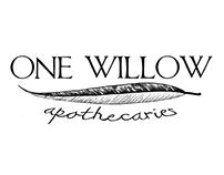 One Willow Apothecaries Logo & Label Design