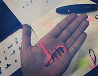 3D Arabic Letters