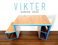 VIKTER Gaming Desk