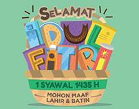 Idul Fitri 1435 H Envelope
