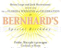 Bernhard's Birthday Invitation