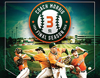 2018 Miami Hurricanes Baseball Poster