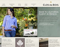 Clos Du Bois / Website Redesign