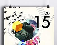 Projeto Gráfico agenda 2015 Morena Rosa Group.