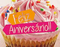 Pink Cats - Email mkt aniversário