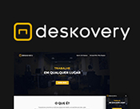 Deskovery Landing Page