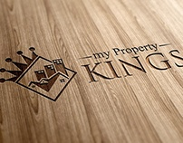 Logo Design for My Property Kings