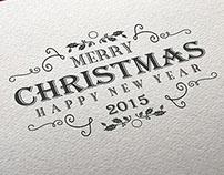 Customizable Christmas Insignias