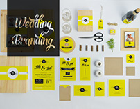 Wedding Branding Mock-Ups